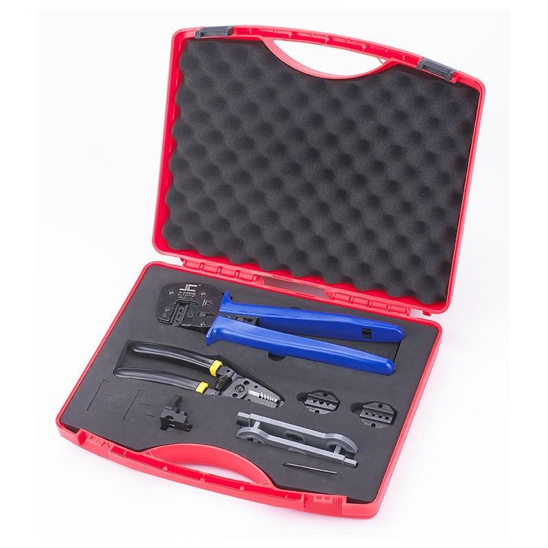 multi function crimping tool set MC4/MC3/TYCO crimping plier solar wire stripping plier A K2546B 5 Solar Tool Kit
