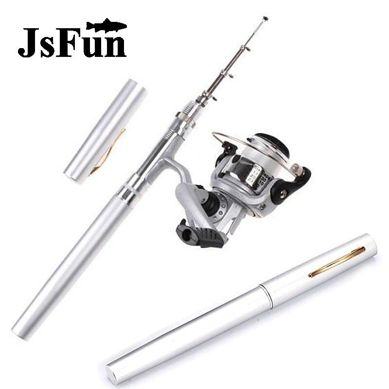 SET Mini Fishing <font><b>Rod</b></font> Telescopic Pen Fishing Pen <font><b>Rod</b></font> Fly Fishing Spinning <font><b>Rod</b></font> Canne A Peche Carp Vara De Pesca Olta <font><b>Rods</b></font> FR146