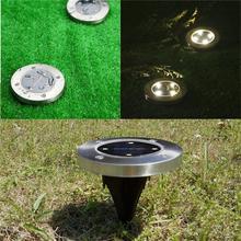 Waterproof Solar Powered LED Lights Outdoor Pathway Lights