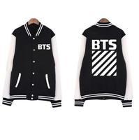 New Kpop BTS Bangtan Boys YOUNG FOREVER Album The Same Spring And Autumn Baseball Uniform Cotton