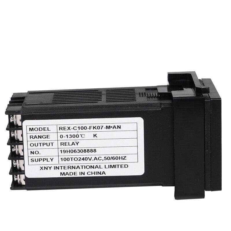 Freeshipping Digital PID TEMPERATURE CONTROLLER Termostato Uscita - Strumenti di misura - Fotografia 5