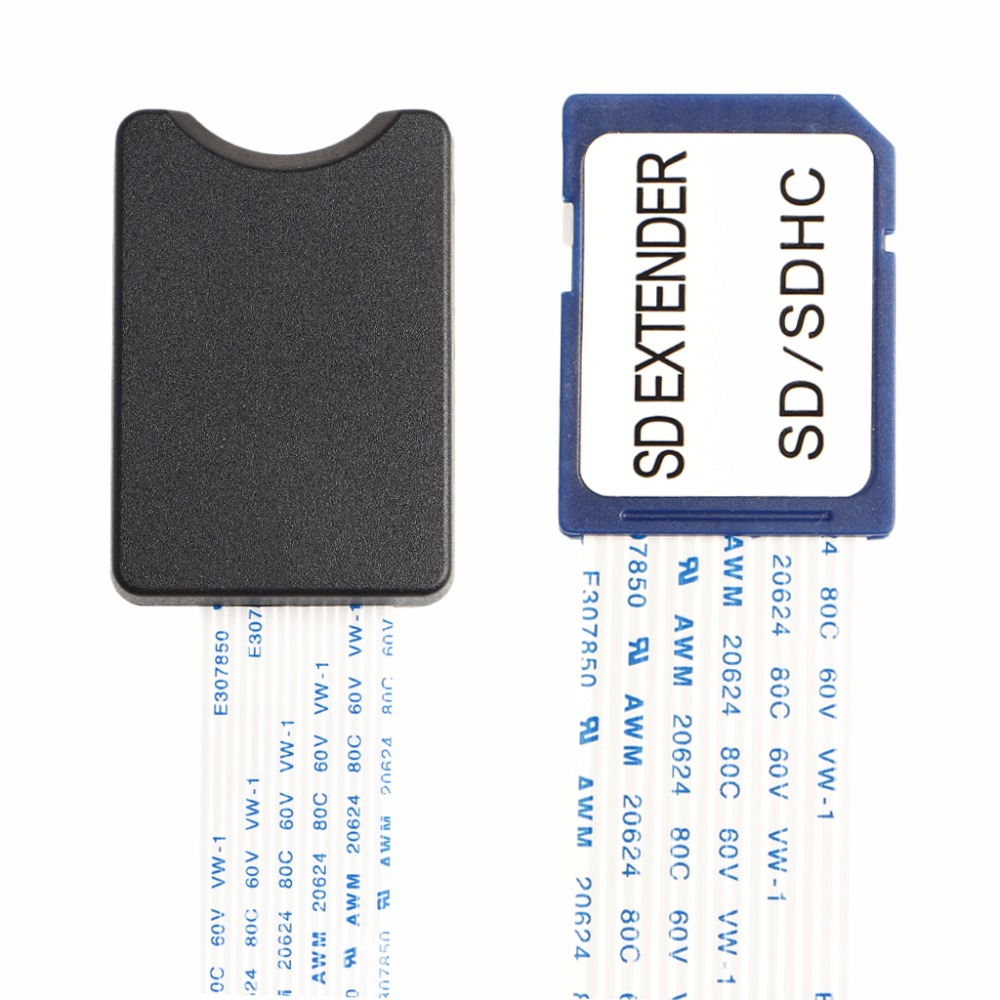 купить SD SDHC SDXC Card Male To Female Flexible Extension Adapter Cable Extender For Phone GPS Camera 48/60cm #R179T#Drop Shipping недорого