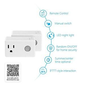 Image 2 - Broadlink sp3 tomada inteligente interruptor do temporizador da ue casa inteligente controlador wi fi controle sem fio tomada de energia para alexa google