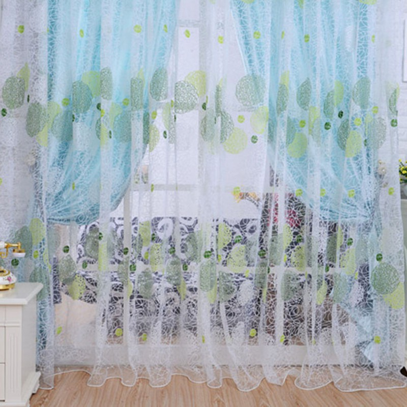 2018 New Tulle Curtain Window Screening Decoration For The Living Room