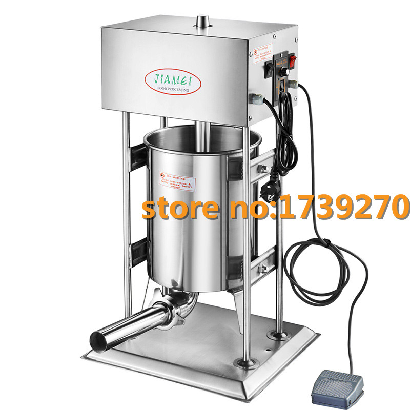 new arrival electric sausage filler,automatic sausage filler stuffer,commercial|Food Processors|   -
