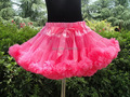 New Holiday Free Shipping hotest girls princess pettiskirt tutu very fluffy pettiskirts for teens PETS-114