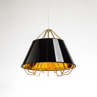 Nordic Modern Creative Personality Restaurant Chandeliers Simple Art Fabric Clubs Model Room Pendant Lights Lo7187