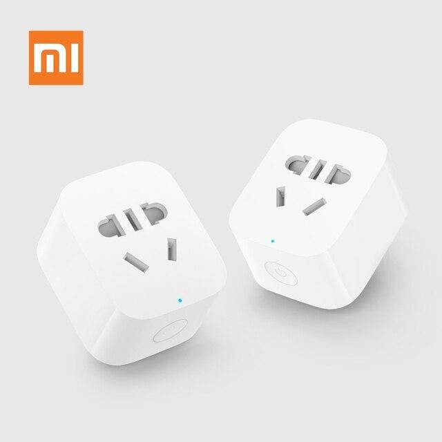 Oryginalny Xiaomi Mijia inteligentne gniazdo WiFi wtyczka WiFi wersja gniazdo bezprzewodowy pilot zdalnego włączania i wyłączania zasilania gniazda sieciowego przez telefon