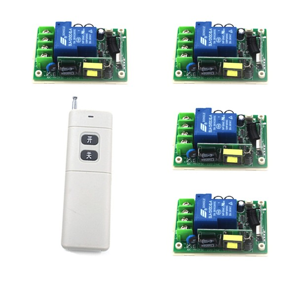 Hot Selling AC 85V-250V 30A 1CH Wireless Remote Control Radio Switch 315mhz Transmitter Receiver 200m High Sensitivity SKU: 5293 new arrival for ac 220v 1ch small channel wireless remote control radio switch 315mhz 1 transmitter 3 receiver 200m sku 5226