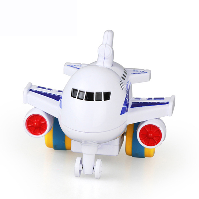 Diecasts & Toy Vehicles Adroit Feichao Mini Inertia Model Airplanes Cartoon Children Toy Colorful Gift Friction Toy For Boy 1-3 Years