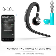 Lymoc Upgrade Y3+ Bluetooth Earphone Handsfree Ear Hook Wireless Headsets V4.1 Noise Cancelling HD Mic Music For iPhone Huawei