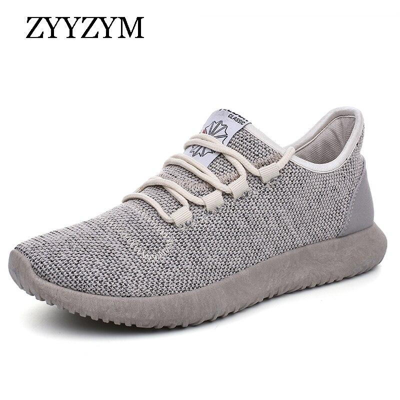 27c95f9e48 Calçados Casuais dos Homens Tênis para Homens Zyyzym Moda Sapatos ...
