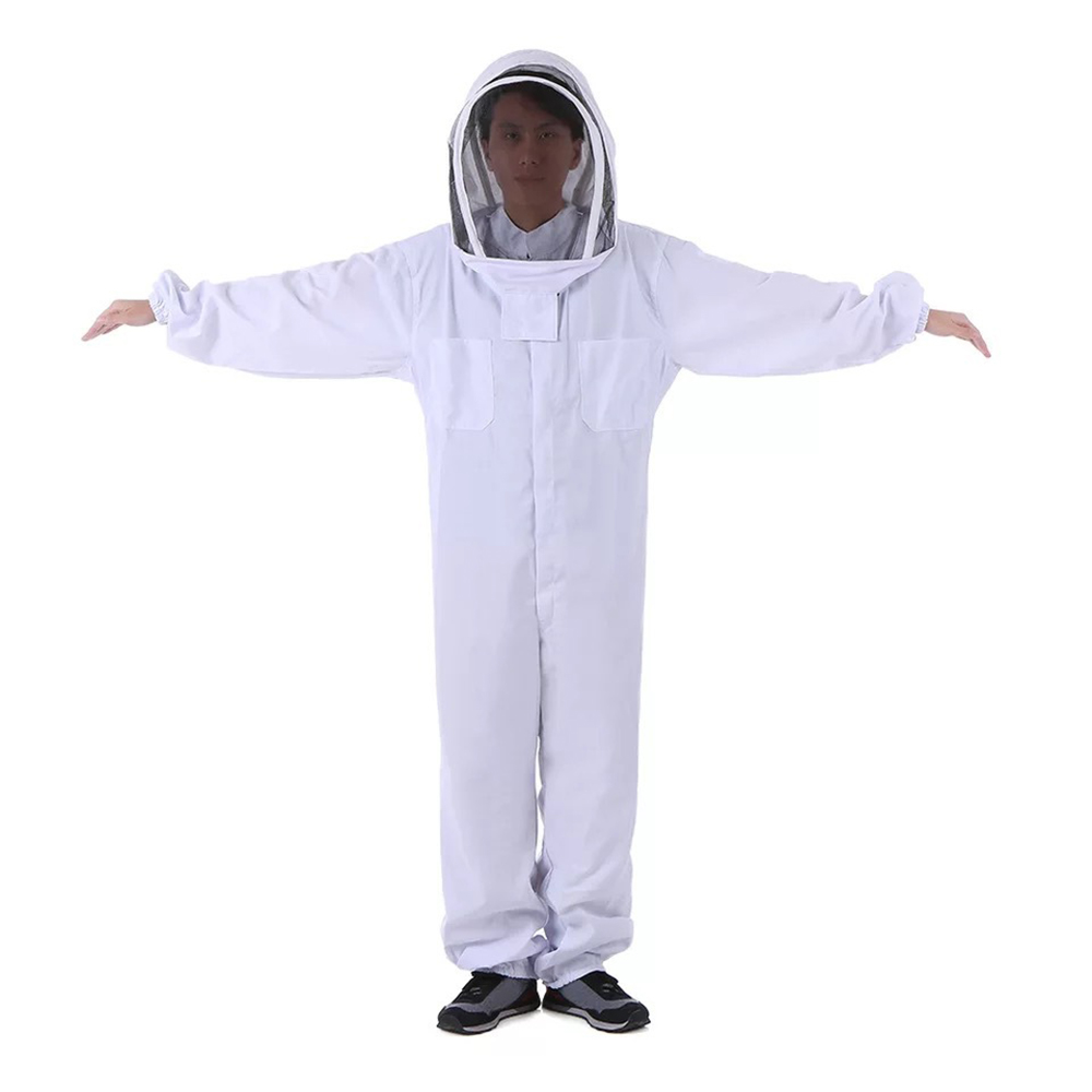 Outdoor Tools Beekeeping Veil Suit Jacket Thick Beekeeper Protective Clothing Anti bee Clothes Bee Hat Equipment Outdoor Tools-in Outdoor Tools from Sports & Entertainment