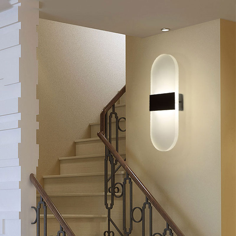 HTB1TmkyQVXXXXbaXXXXq6xXFXXXB - Acrylic LED Wall lamp 3W 5W 6W Modern Bedroom Bedside decoration wall sconces light for home stairs loft LED light indoor decor