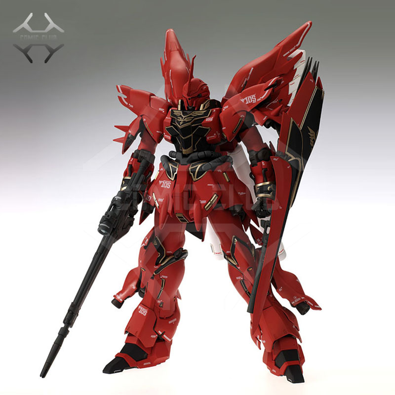COMIC CLUB INSTOCK MG 1/100 GAOGAO SINANJU Gundam model kit action figure assembly toy(China)