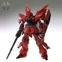 نادي كوميك إنستوك MG 1/100 GAOGAO SINANJU Gundam أطقم منمذجة لعبة عمل الشكل التجمع