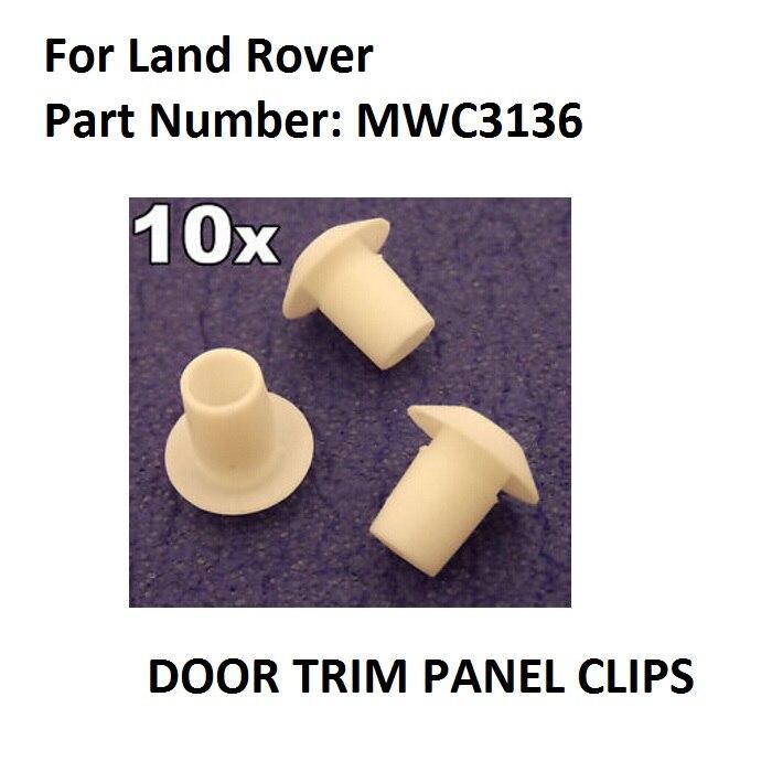 LAND ROVER DEFENDER DOOR CARD PANEL TRIM GROMMET INSERT CLIPS STUDS /& SNAPSAC