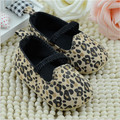 2015 Infantil Leopard Baby Shoes First Walkers Bebe Shoes Toddlers Girls Cotton Antislip Shoes
