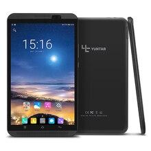 Yuntab 8 дюймов H8 Android 6,0 Quad-Core 4 г tablet pc phablet Поддержка dual SIM карты телефон с двумя камера на 5000 мАч Батарея