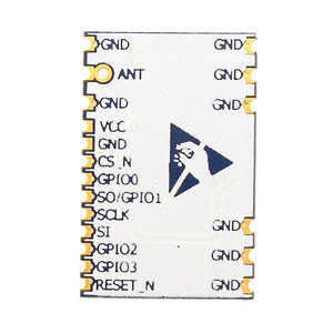 Image 2 - VT CC1120 433 Mhz 868 Mhz drahtlose modul CC1120 digitale transceiver SPI hohe empfindlichkeit schmalband RF