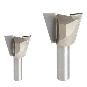 1 шт. 1/4*1/2 деревообрабатывающий резак фрезерный инструмент для гравировки с ЧПУ резак Гонг 1/4 хвостовик