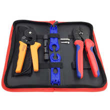 Crimping tool combination tools for photovoltaic MC4 and insulated/non-insulated jacketed terminals  Crimp wire cable plier suit