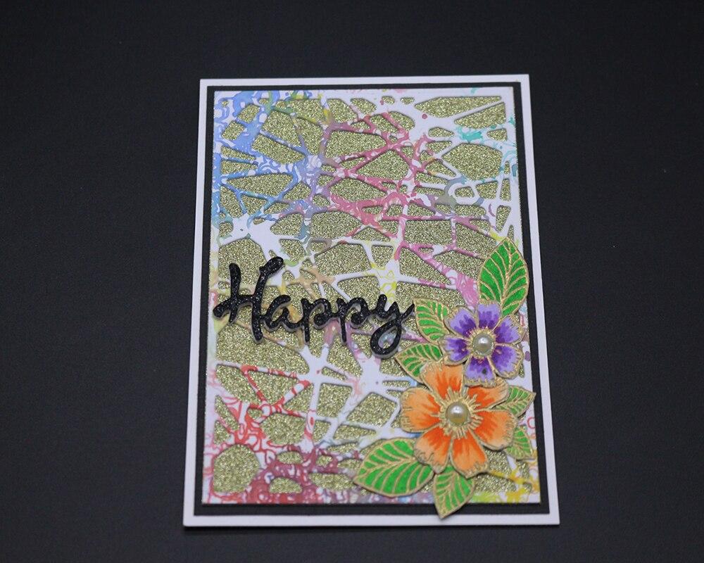 ZhuoAng Color stripe metal cutting mold scrapbook album embossing DIY paper card making decorative process