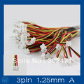 Mini. Micro T-1 JST 1.25mm 3-Pin Conector w/. Wire x 10 sets.3pin (1.25mm) Una