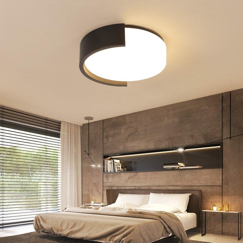 Ceiling Lighting Led Ceiling Lights Kitchen 110 220v Flush: Modern Nordic 110V 220V Interior Home Kitchen Bedroom