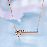 Love 18K Gold Diamond Pendant For Women Fashion And Fine Jewelry For Wedding And Engagement Ceremony