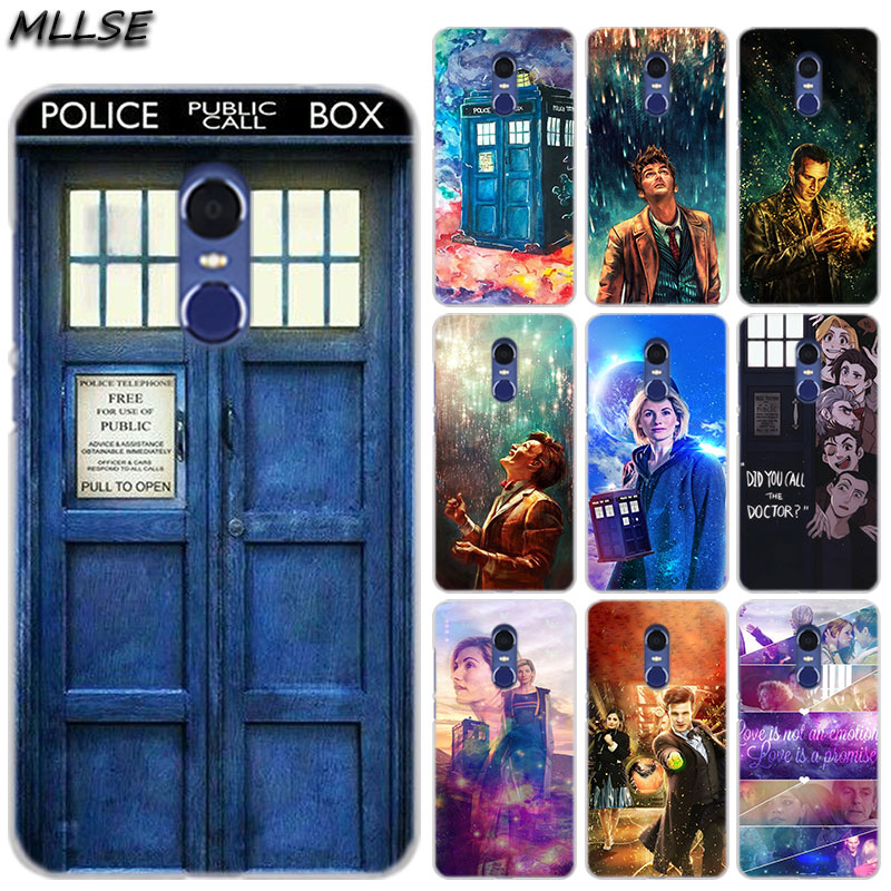 Phone Bags & Cases 121sd Tardis Doctor Who Soft Silicone Tpu Cover Phone Case For Xiaomi Redmi 6 Pro 6a Note 5 6 Pro Mi 8 Lite Half-wrapped Case