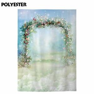 Image 4 - Allenjoy 写真 photophone 背景絵画花アーチフレーム結婚式春イースター子の背景 photocall photobooth