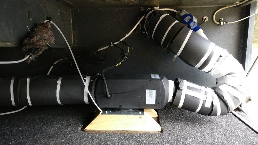 Купить с кэшбэком Not Webasto 5KW 12V Air Parking Heater For Diesel Truck Boat Van Rv Bus Camper (Not Original)
