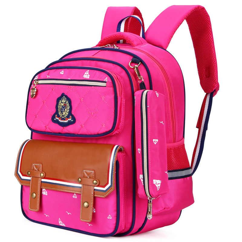 2019 Children School Bag Boys Girls Kids Satchel Primary school backpack Orthopedic Backpack schoolbags kids Mochila Infantil