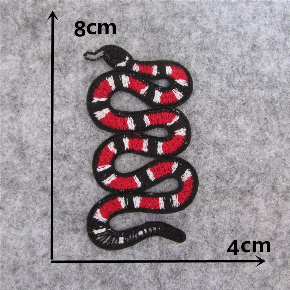 Новое поступление модный стиль змея термоклея аппликация вышивка патчи полосы DIY одежды аксессор