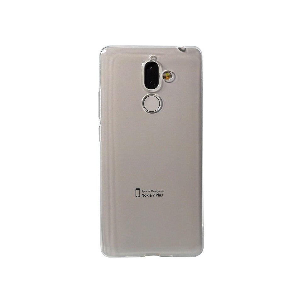 Чехол-накладка Inoi Premium case для Nokia 7 Plus, силиконовый (TPU), прозрачный