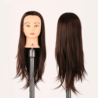 26 Hair Training Salon Mannequin Doll Head Hairdressing Practice Cosmetology Hair Styling Mannequins With Stand
