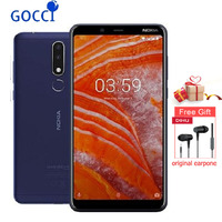 NOKIA 3.1 Plus Smartphone 6 inch IPS RAM 3GB ROM 32GB Dual SIM with SD Slot 3500mAh 4G Lte Helio P22 Octa core Mobile Phone