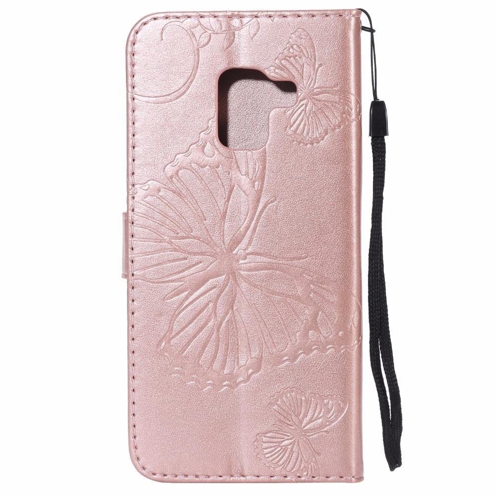 JURCHEN Case For Samsung Galaxy A6 A8 Plus 2018 Case Wallet Flip Cover For Samsung A310 A510 For Samsung Galaxy A5 2017 Case