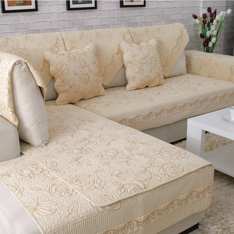 Awesome Sofa Mats Cotton Quilted Slip Resistant Sofa Towel Soft Machost Co Dining Chair Design Ideas Machostcouk