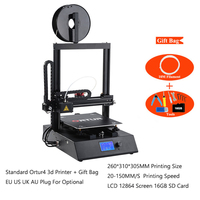 Ortur 2019 Best 3d принтеры машины сталь легкоплавкий Металл линейной направляющей DIY полу сборки комплект с Авто датчик уровня