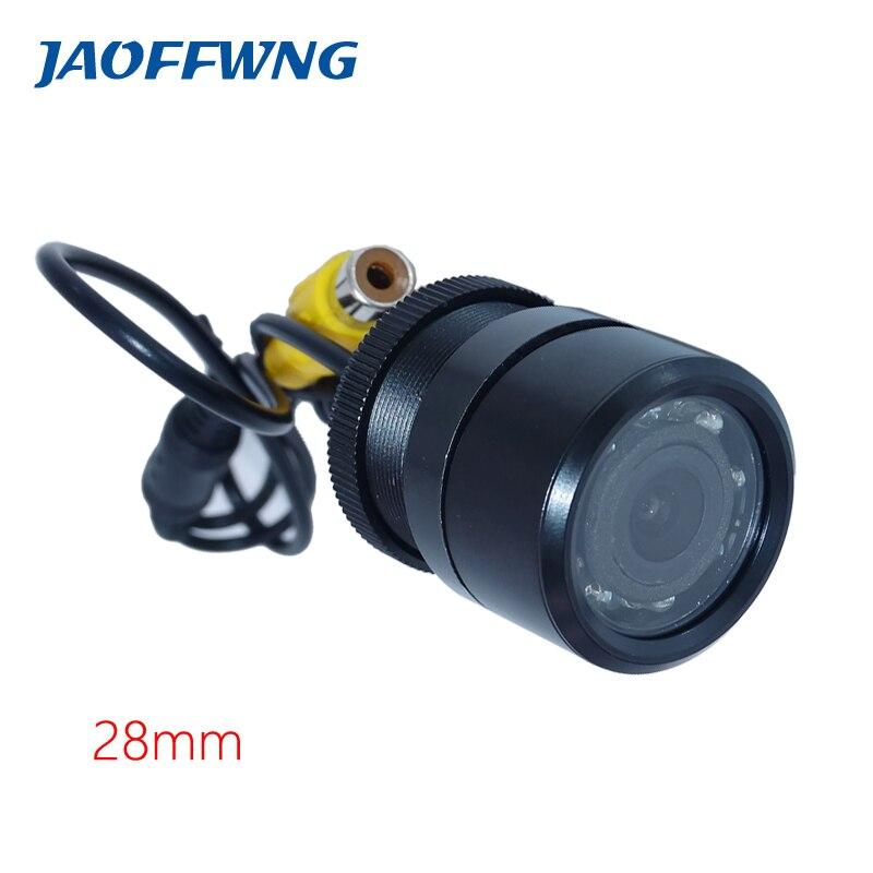 imágenes para HD coche cámara de marcha atrás IR LED de visión nocturna resistente al agua para el estacionamiento de coches monitor de vídeo copia de seguridad/visión trasera sistema