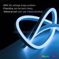 Wholesale Flexible Neon Light Strip Full Color Single Point External Control 60leds M Waterproof IP68 DC24V