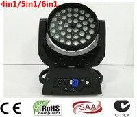 36x12 W 36x15 W 36x18 W 4in1 5in1 6in1 Zoom Testa Mobile A Led luce RGBWA UV DMX512 Led Moving Head Wash Effetto Fascio luce