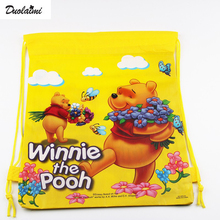 1 Pic children schoolbags Princess Drawstring Bags Cartoon For Girls & Boys multipurpose school backpack Christmas gifts 90