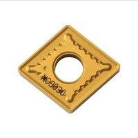 CNMG190612-GR nc3030  inserção de carboneto original  usr para torneamento ferramenta titular chato barra mini máquina cnc insere 10 peça