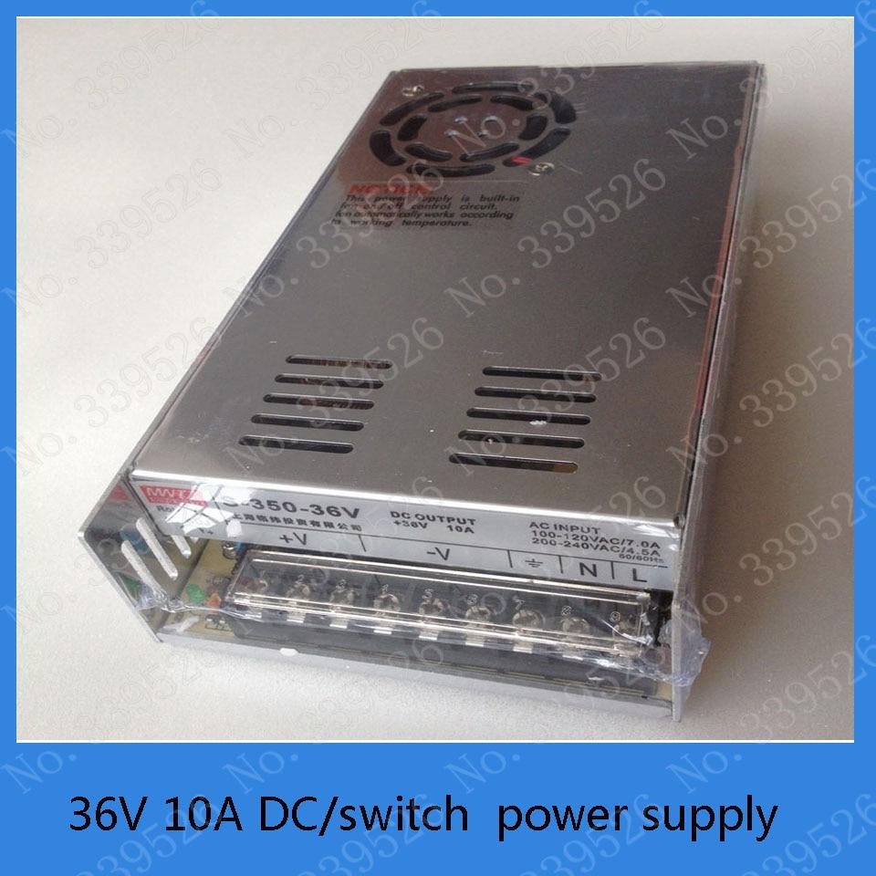 36V 10A DC power supply switch power supply for laser machine stepper motor 4pcs 12v 1a cctv system power dc switch power supply adapter for cctv system