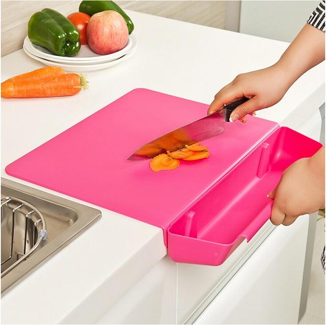 Creativo pieghevole tagliere antibatterico tagliere da cucina ...