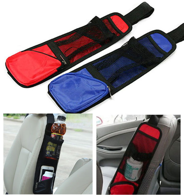 3 Color Car Auto Seat Side Storage Net Organizer Phone Cup Drink Bottle Holder Mesh Pouch String Bag Hanging Multi In Stowing Tidying From Automobiles
