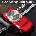Case для Samsung Galaxy S4 Zoom C101 C1010 sm-c101 Тонкий Матовый матовый Задняя Крышка Капота Гибридный Жесткий Пластик Сотовый Телефон Case XJQ